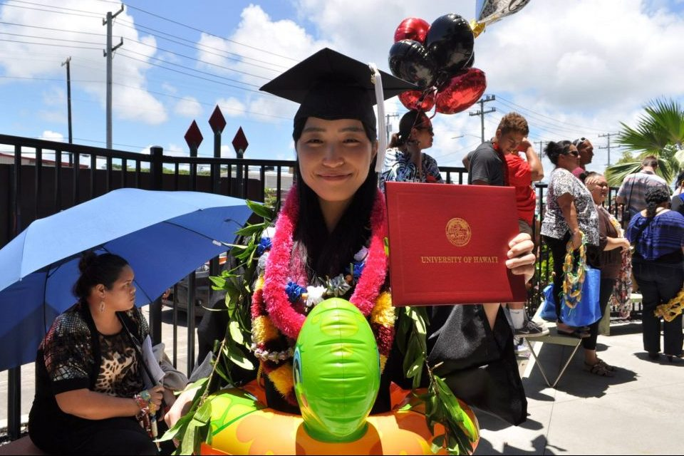 Hawaii Community College Gradution