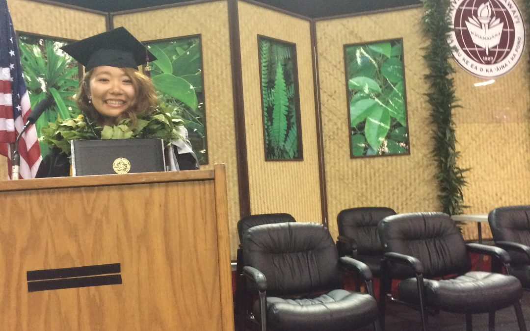 ハワイコミュニティカレッジ 卒業式