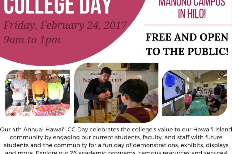 4번째 Annual Hawai'i Community College Day