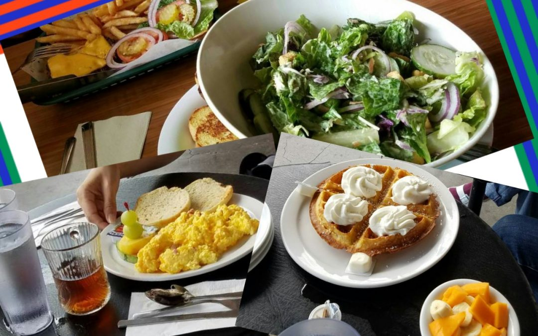 IEP レベル4の英文ブログ:My Top Three Favorite Restaurants