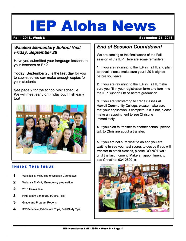 IEP Aloha News Week 6-page-0 (4) - Intensive English Program