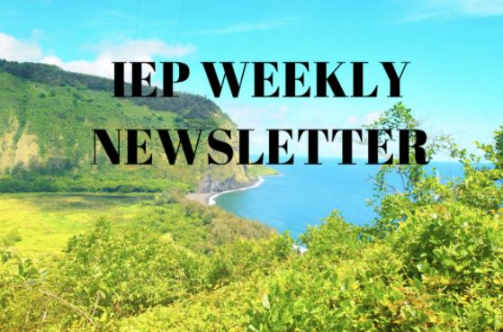 Fall I 2021 Newsletter Week 7